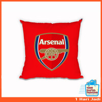 Bantal Foto Edisi Arsenal - Gunners - The Gunners - Bantal Custom