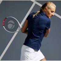 Artengo Kaos Polo Tenis Wanita Dry 100 Womens Tennis Polo Shirt