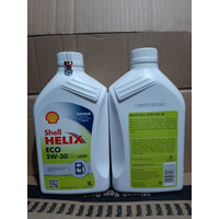 f. Oli Shell Helix Eco Sae Gasoline 5W For Isi Liter 1 Lcgc Gasoline 3