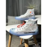 Sepatu Unisex Model Converse All Star 1970s Warna Putih Transparan