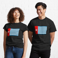Kaos The morning star flag of West Papua. 166115 T Shirt