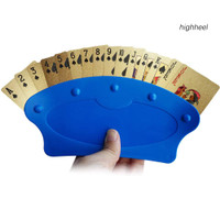 RYP_1Pc Home Party Hand Free Table Game Poker Playing Card Holder