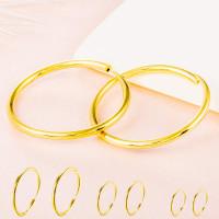 Anting Klip Lapis Emas Ukuran 20-40mm Untuk Pria/wanita