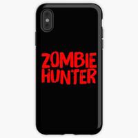 Casing HP iphone 12 11 Xs Pro Zombie Hunter Zombie Slayer Zombie Killi