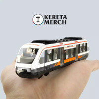MAINAN KERETA API TOYS MRT WEST TRAIN MINIATUR KERETA API TRAIN MAINAN