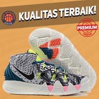 Sepatu Basket Sneakers Nike Kyrie Hybrid S2 What The Black Multicolor