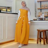 TRAND model Baju Gamis Remaja Terbaru i muslimah Kekinian 2020 Gamismu