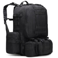 Tas Carrier 50L Ransel Hiking ZHB001/ Tactical Backpack/ Daypack/