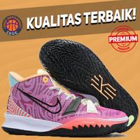Sepatu Basket Sneakers Nike Kyrie 7 Preheat Pre Heat Creator Pink