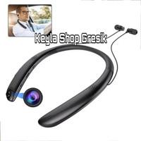 spy cam camera HD bentuk handsfree bluetooth headset magnet ic