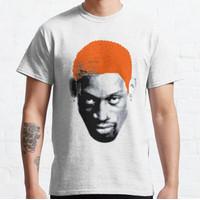 Kaos RARE New Dennis Rodman T Shirt Vintage 90s Ro T-shirt 115787