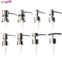 Botol Pompa Dispenser Sabun Cair Lotion Bahan Stainless Steel 7s