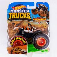 PBS Hot Wheels Monster Trucks TIGER SHARK skala 1 64 Mainan Mobil Bala