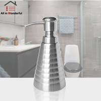 Botol Pompa Dispenser Sabun Cair Lotion Bahan Stainless Steel 0v