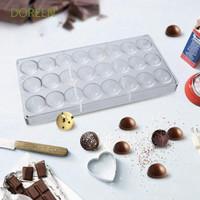 Doreen Cetakan Coklat Bentuk 24 Bola Bahan Polycarbonate