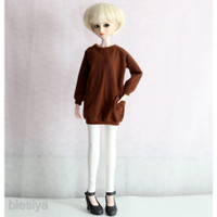 Fashion doll clothes skinny pants leisure trousers for 1/4 BJD