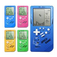 Mainan Game Tetris Klasik Retro Genggam Elektronik Untuk Edukasi An 6p