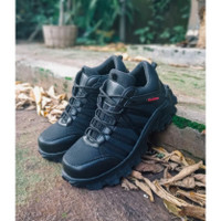 Sepatu Boots Pria Pendek Ninja Safety Tactical PDL TNI Polri