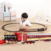Perfectxset Mainan Kereta Api Klasik Dengan Mesin Lokomotif Uap