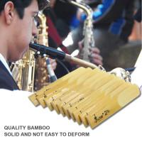 10Pcs Bambu LADE 25 untuk Saxophone Alto BB Sax n2