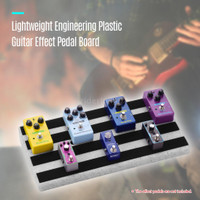 Rpb2 rockhouse rpb2 Pedal Efek Gitar Besar Ringan Portable Bahan Pl y2