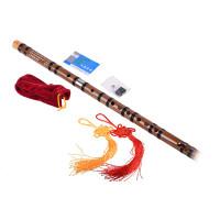 Chinese Bamboo Flute dizi CDEFG keyFlute BagFlute GlueFlute Membran q1