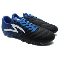 SJU sepaty Bola Specs Equinox FG Black Tulip Blue Sepatu Bola Specs