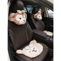 Termurah Mode Mobil Kartun Headrest Neck Pillow Mobil Lucu kursi Du 6i