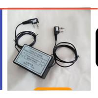 Kotak relay repeater 2 arah, modul repeater ht cina baofeng uv5r uv82