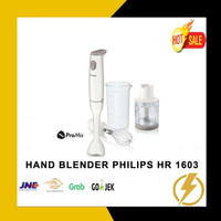 HAND BLENDER PHILIPS TIPE HR-1603 KAPASITAS 0,5 LITER DAYA 550 WATT