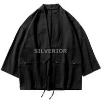 Baju Pakaian Kimono Yukata Warrior Aikido Samurai Pria Jepang Retro