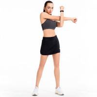 Rok Wanita Atletik Skort Ringan Dengan Saku Untuk Lari Tenis Golf
