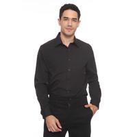The Executive Basic Regular Shirt 1-LSRBSC519O046 Black