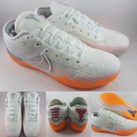 Sepatu Basket Nike Kobe AD NXT 360 Infrared White Orange Putih Oren