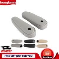 Houglamn 2pcs Cover Sandaran Tangan Jok Mobil Bahan Kulit Sintetis