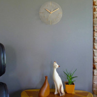 Nordic Industrial-Style Cement Wall Clock ern Silent Clocks YTID
