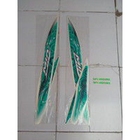 KSH Striping Mio Sporty 2012 putih hijau