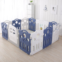 New Multi fungsi removable indoor playground PE baby plastic play pen