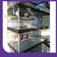 aquarium nisso NSMF60 khusus reptil dan kura 60cm