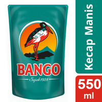 Bango Kecap Manis Reffil 550 Ml