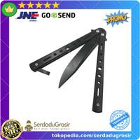 Pisau Lipat Balisong Folding 3 Color CS Go Balisong Hunting Knife - C3
