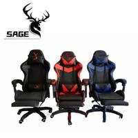 SAGE Premium Quality Gaming Chair Kursi bangku game 145 - SG-168