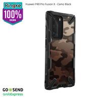 Ringke Huawei P40 Pro Fusion X Softcase Anti Crack Drop Military - CamoBlack