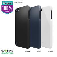 iPod Touch 5 6 7 Softcase Hardcase AntiCrack Bening Transparant Ringke - Hard-Black