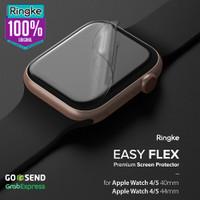 Ringke Apple Watch 4 Watch 5 Easy Flex Screen Protector Anti Gores