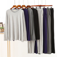 Piyama Baju Tidur Impor lengan panjang pria bahan adem