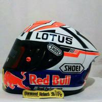 Terlaris Helm Ink CL Max repaint Shoei X14 Moto GP Marc