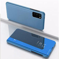 Casing Samsung S20 FE S20FE case flip cover mirror standing autolock