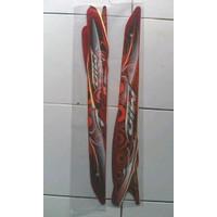 KSH striping lis sticker mio sporty 2012 merah