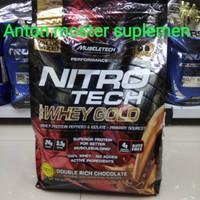 Nitrotech whey gold nitro tech whey gold muscletech 8 lbs